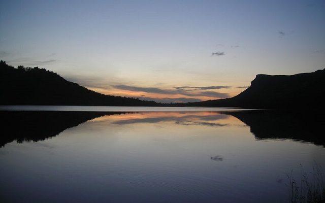 Glencar Lake at Sunset