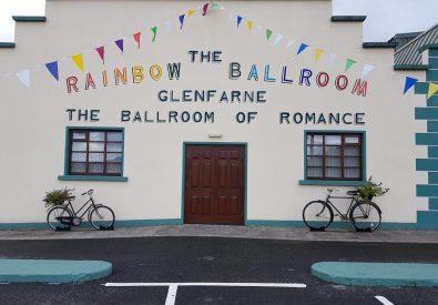 The Rainbow Ballroom...