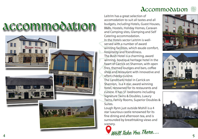 Accommodation in Leitrim