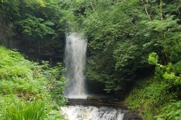Glorious Glencar Waterfall